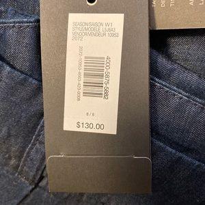 $130 NWT A/x Armani Exchange women pants , size 8